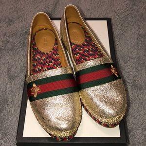 Gucci Galassia Gross Grain Espadrilles